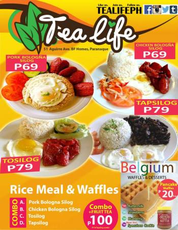 tealife-bfhomes-rice-meal-and-waffle